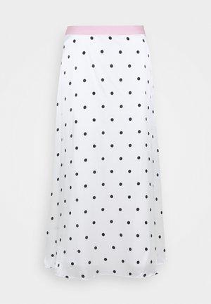 PENELOPE SKIRT - Áčková sukně - white
