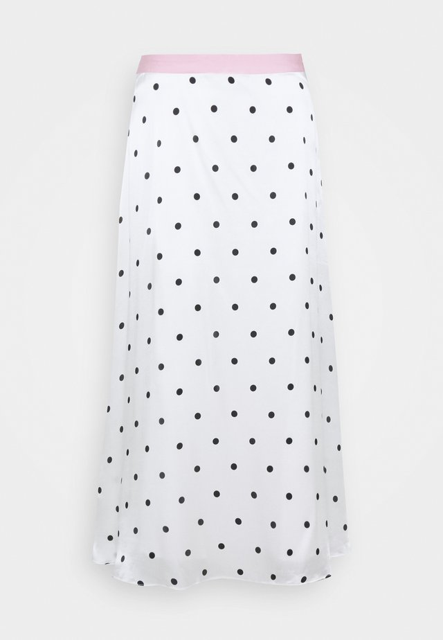 PENELOPE SKIRT - Gonna a campana - white