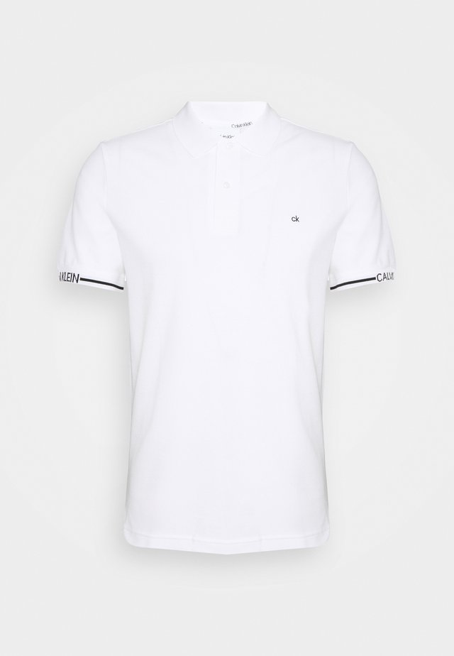 LOGO CUFF SLIM FIT  - Poloshirt - white