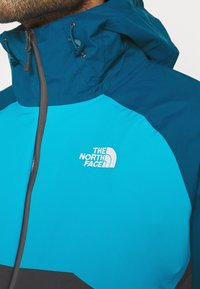 The North Face - MENS STRATOS JACKET - Hardshell jacket - anthracite/teal/blue - 3