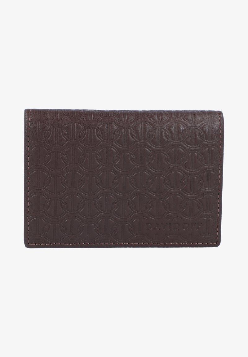 DAVIDOFF - Business card holder - brown