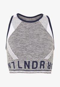 LNDR - AERO - Sports bra - grey marl - 4
