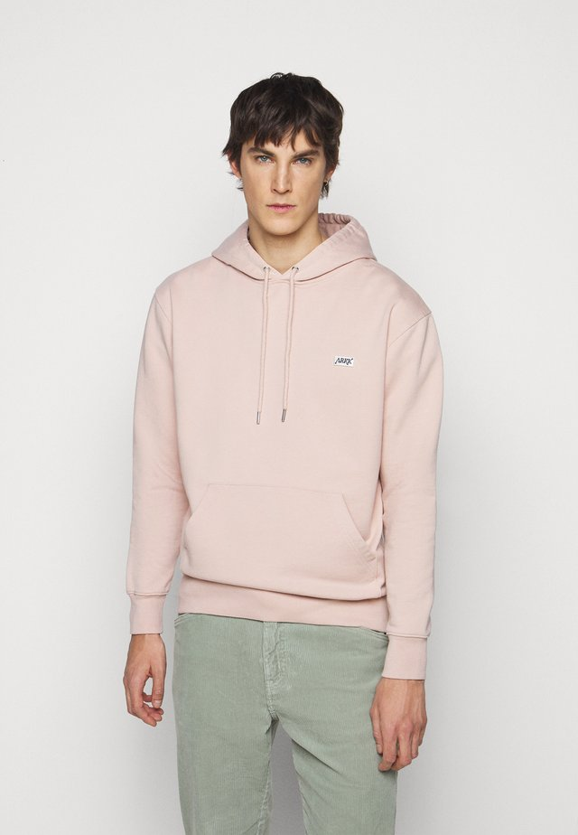 BOX LOGO HOODIE - Sweatshirt - rose dust