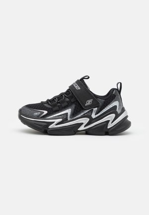 WAVETRONIC UNISEX - Neutral running shoes - black/charcoal/silver