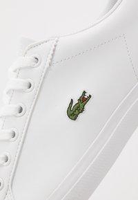 Lacoste - LEROND - Sneakers laag - white/black - 2