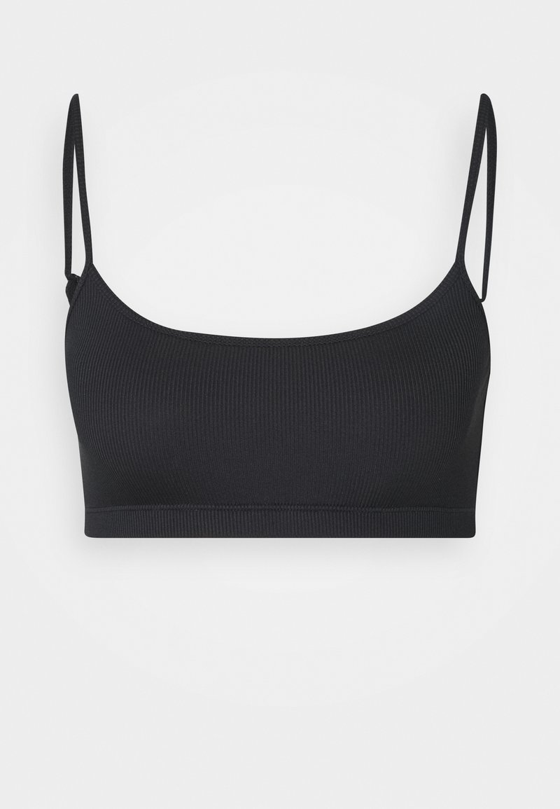 Weekday - SOFT BRA - Korzet - black