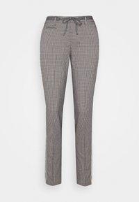 Opus - MORIEL PEPITA - Trousers - iron grey melange - 3