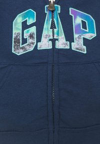 GAP - TODDLER BOY LOGO NOVELTY - Zip-up sweatshirt - night - 2