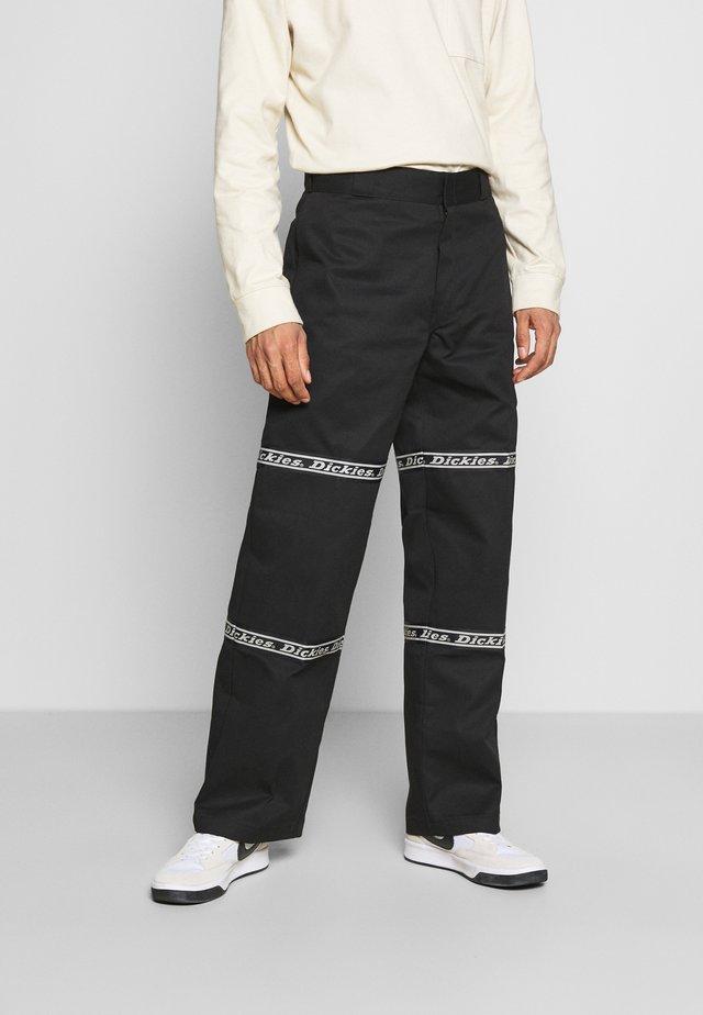 GARDERE - Pantaloni - black