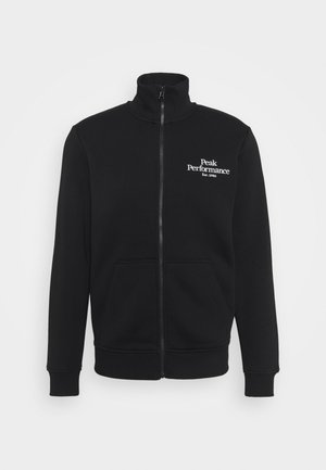 ORIGINAL ZIP JACKET - Zip-up hoodie - black