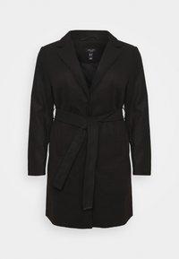 New Look Curves - JORDAN BELTED COAT - Classic coat - black - 4