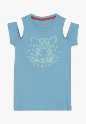 T-SHIRT SS - Print T-shirt - light aqua