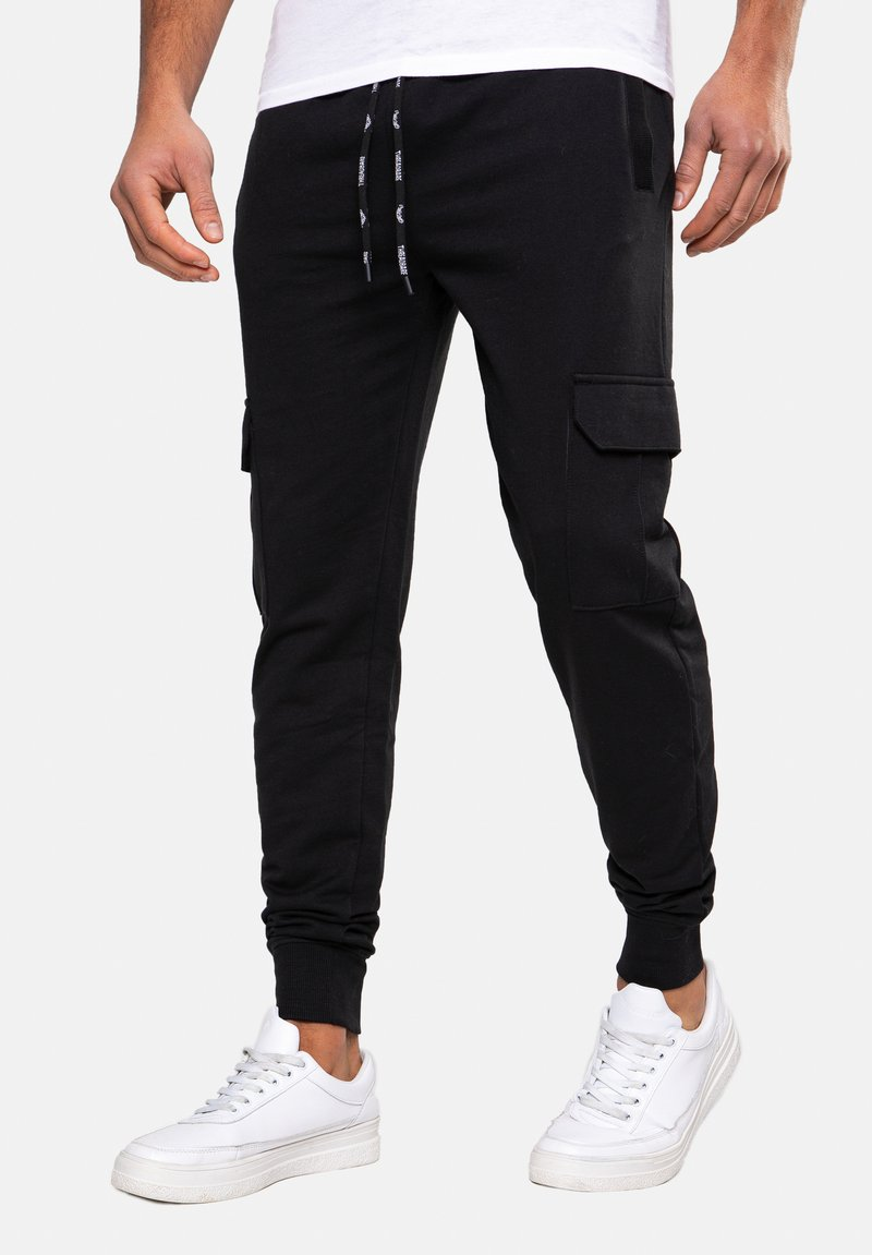 Threadbare - STEFAN - Tracksuit bottoms - black