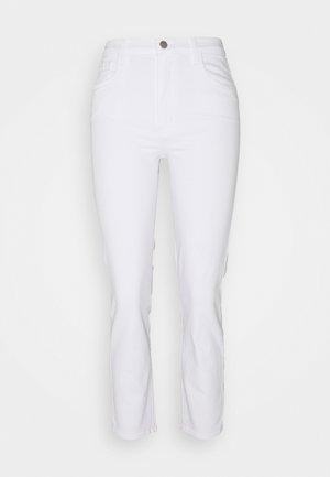 ALMA HIGH RISE - Straight leg jeans - blanc
