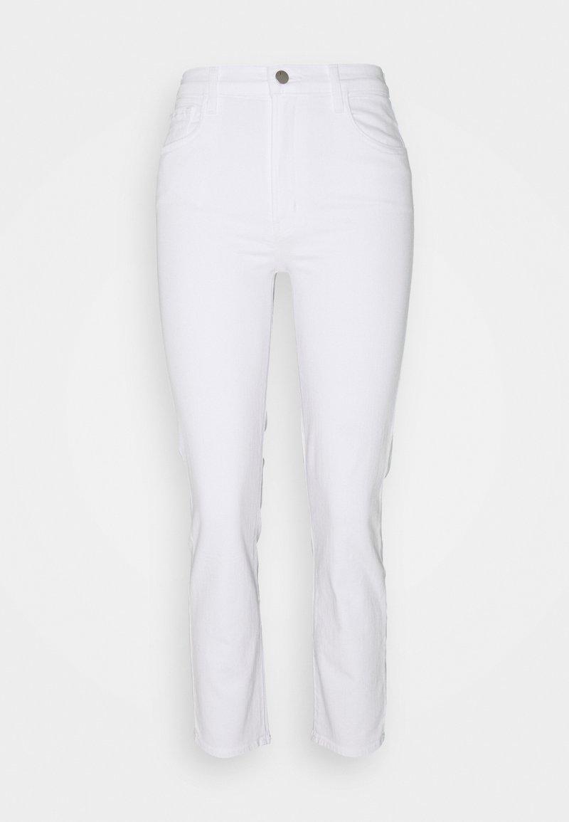 J Brand - ALMA HIGH RISE - Straight leg jeans - blanc