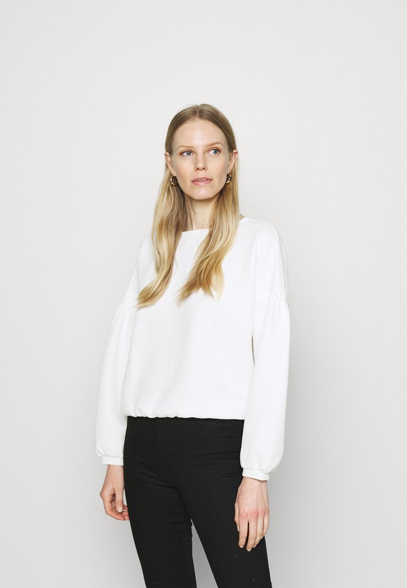 Opus - GULBA - Long sleeved top - milk