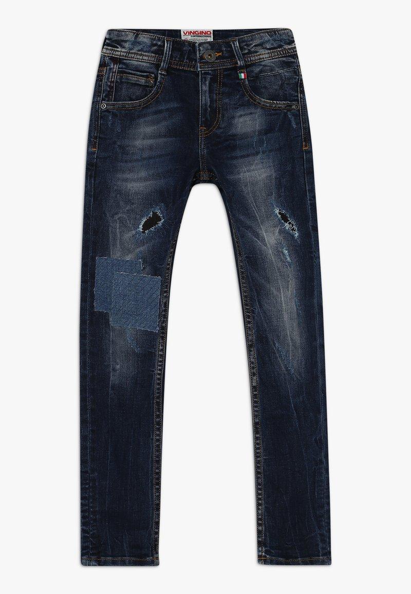 Vingino - AGNUS - Jeans Skinny Fit - dark used