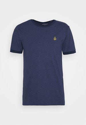 KURZARM - Jednoduché triko - blue