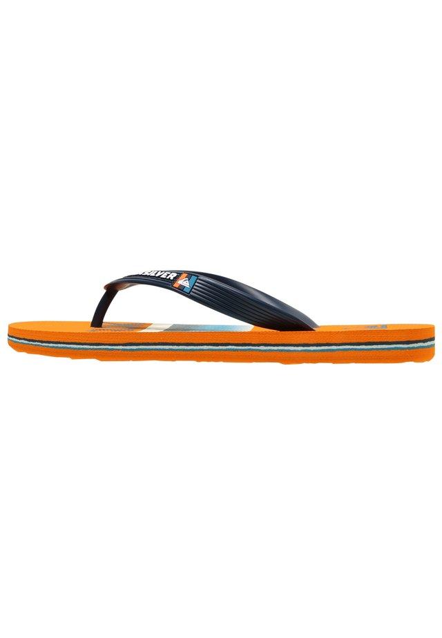 MOLOKAI SLAB  - Pool shoes - blue/blue/orange