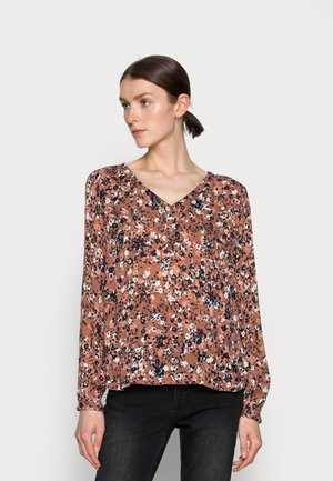 AMBER - Blouse - russet