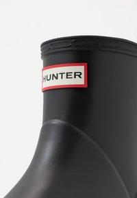 Hunter ORIGINAL - MENS PLAY BOOT SHORT - Gummistøvler - black - 5