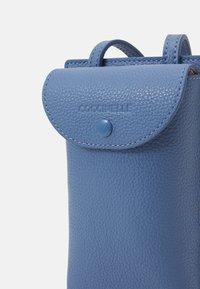 Coccinelle - PORTA TELEPHONO - Across body bag - pacific blue - 3