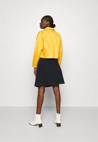 ALIGNE - CAMDEN - Denim jacket - yellow - 2