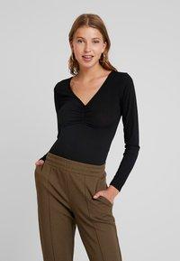 Glamorous - Long sleeved top - black - 0