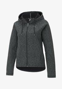 Puma - Zip-up hoodie - black-heather - 3