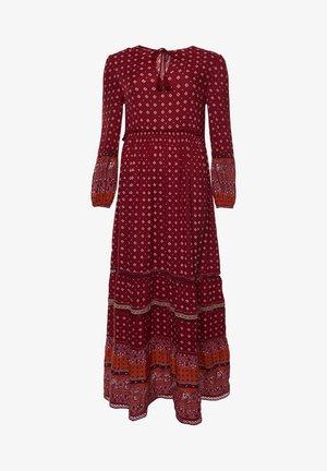 AMEERA - Vestido largo - rust