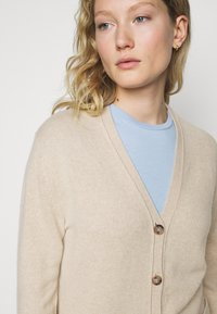 Polo Ralph Lauren - CARDIGAN LONG SLEEVE - Strickjacke - tallow cream - 3