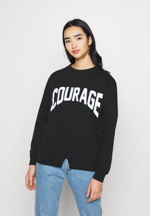 COURAGE  - Sweatshirt - black