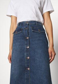 Kaffe - KAEARLENA SKIRT - A-line skirt - blue denim - 4