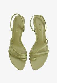 Mango - Ankle cuff sandals - waldgrün - 1