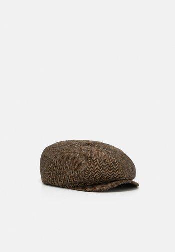 BROOD SNAP CAP UNISEX - Klobouk - brown