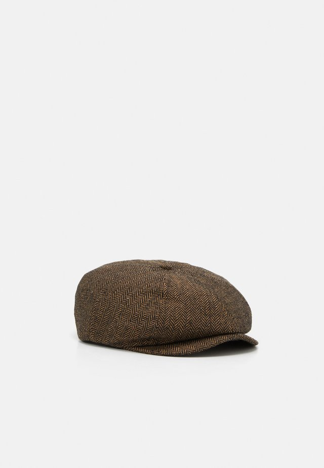 BROOD SNAP CAP UNISEX - Čepice - brown