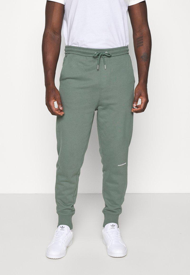 Calvin Klein Jeans - MICRO BRANDING PANT - Pantaloni sportivi - duck green