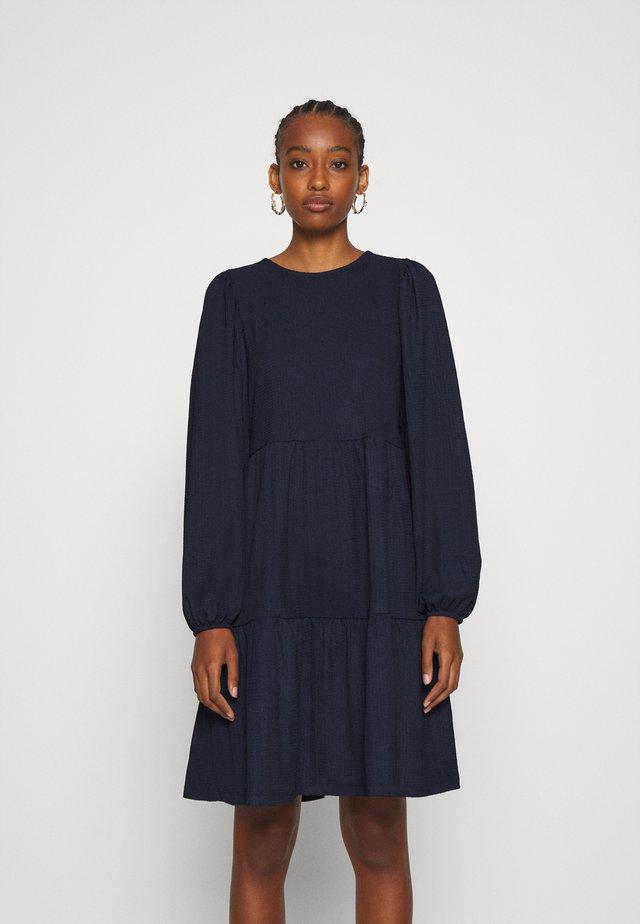 ONLZILLE SHORT DRESS - Jersey dress - night sky