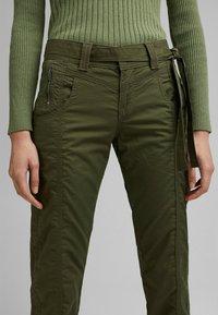 Esprit - PLAY - Trousers - khaki green - 4