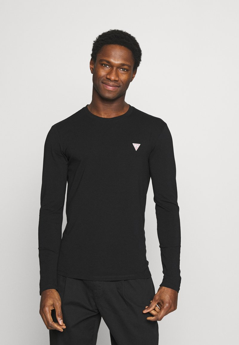 Guess - CORE TEE - Long sleeved top - jet black