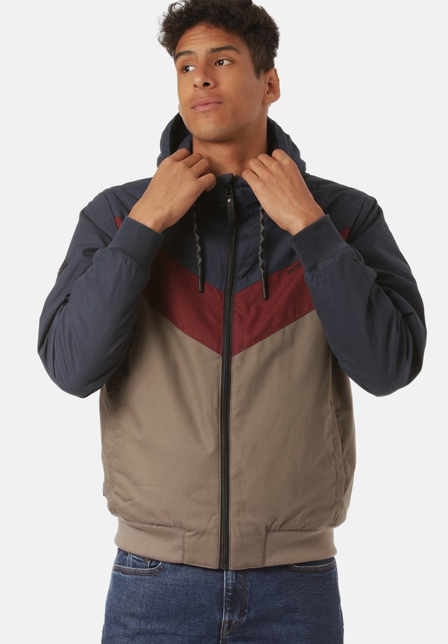 DUNS - Winter jacket - navy / mud