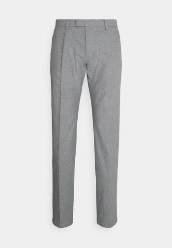 SPRING BIRDS EYE - Pantalon classique - faded indigo