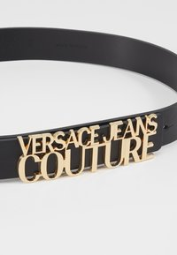 Versace Jeans Couture - BELT LETTERING - Pásek - nero - 2