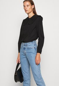 ARKET - BLOUSE - Blouse - black dark - 4