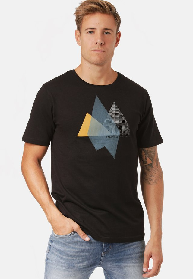 OTAVI - Print T-shirt - black