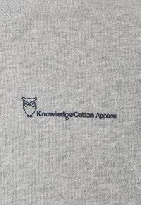 Knowledge Cotton Apparel - Felpa - grey melange - 2