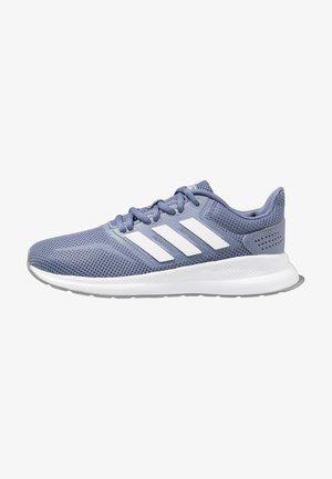 RUNFALCON - Neutral running shoes - raw indigo/footwear white/grey three