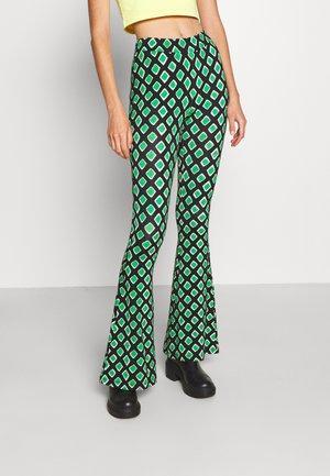 TERRA FLARED  - Trousers - multi