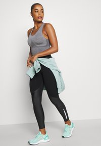 Sweaty Betty - POWER MISSION HIGH WAIST WORKOUT LEGGINGS - Leggings - black - 4
