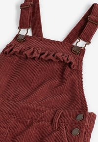 Next - DUNGAREES AND TIGHTS SET - Tuinbroek - red - 4